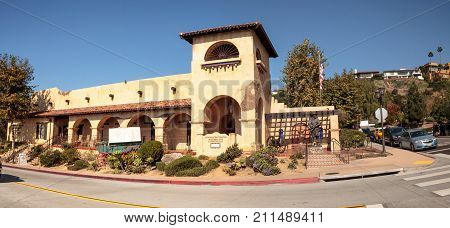 Mormon Battalion Historic Site In Old Town In San Diego