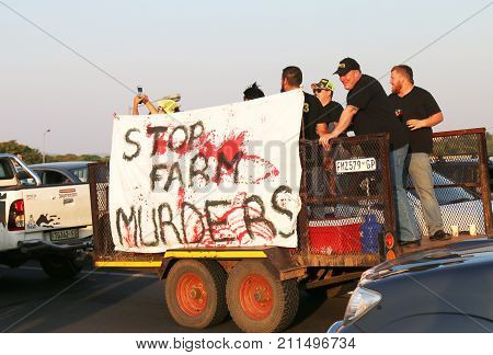 Enough-is-enough, Anti Farmer Murder Campaign Rustenburg, South Africa.