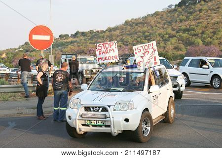 Enough-is-enough, Anti Farmer Murder Campaign Rustenburg, South Africa.
