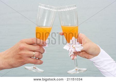 Toast Of A Newly-married Couple