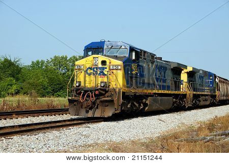 CSX Railroad Train
