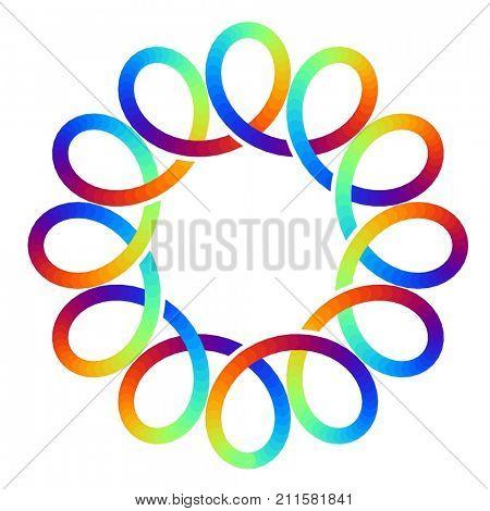 Social network infinity loop