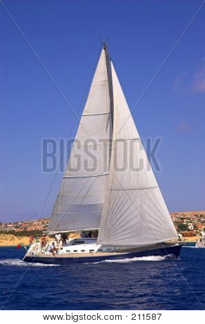 Sailing Close To The Coast