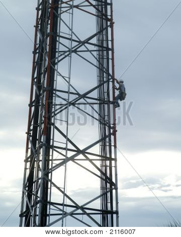 Working On Tower