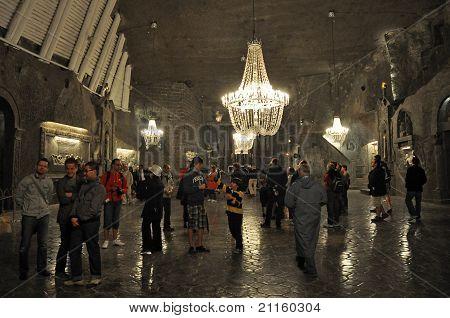 miniera di sale Wieliczka