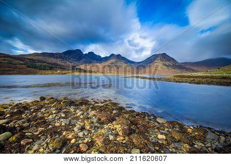 Loch Slapin, Torrin, Isle of Skye, Inner Hebrides, Scotland