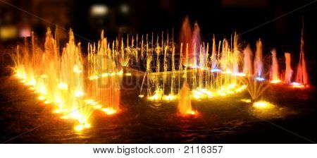 The Fountain On The Dance Fire