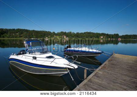 Sweden Boat Dock 2