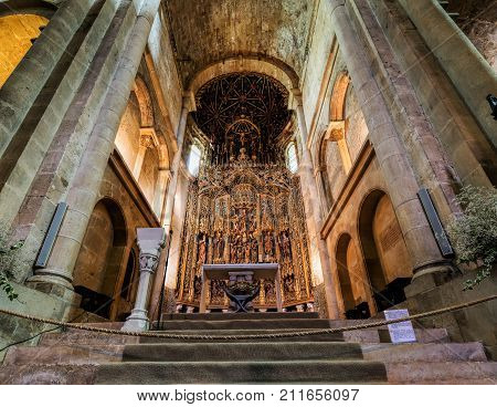 The Old Cathedral Of Coimbra