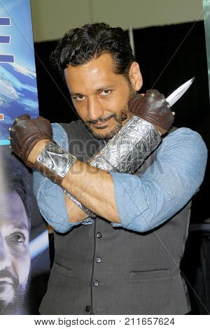 Cas Anvar attends the annual Stan Lee's Los Angeles Comic Con 2017 Expo at the Los Angeles Convention Center on Oct. 28, 2017.