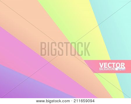 Inclined lines abstract vector background. sweet pastel color