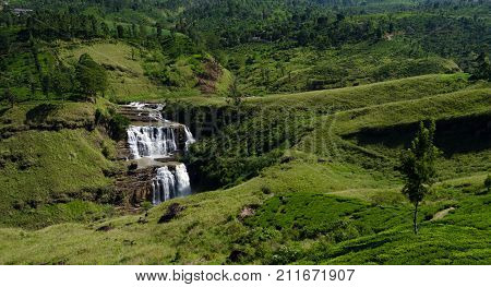 St. Clair's Falls is one of the widest waterfalls in Sri Lanka and is commonly known as the