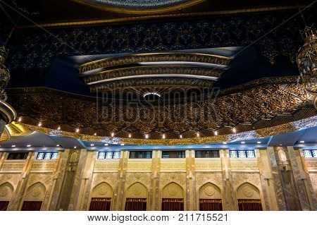Kuwait Grand Mosque interior - 07-01-2015 Kuwait-city Kuwait