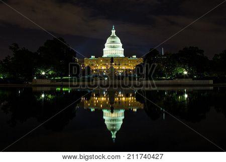 Capital At Night