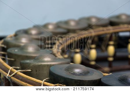Thai musical instrument (xylophone) Asian instrument old style