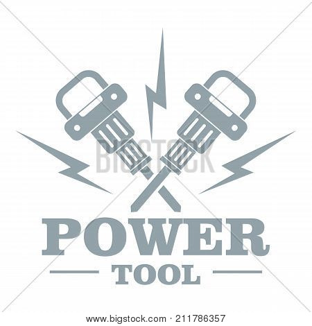 Power bump logo. Simple illustration of power bump vector logo for web