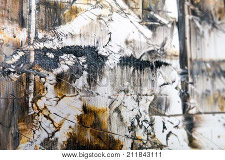Detail Of Abstract Art