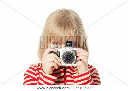 Pretty Young Photographer