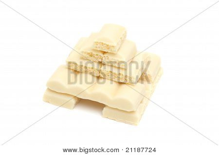 Pyramid Of White Chocolate