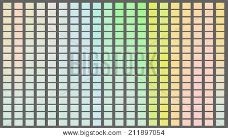 Color Palette. Palette Of Colors. Gray Background Color Shade Chart.