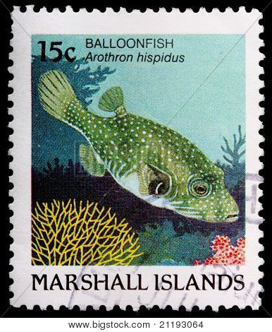 A 15-cent Stamp Printed In The Republic Of The Marshall Islands