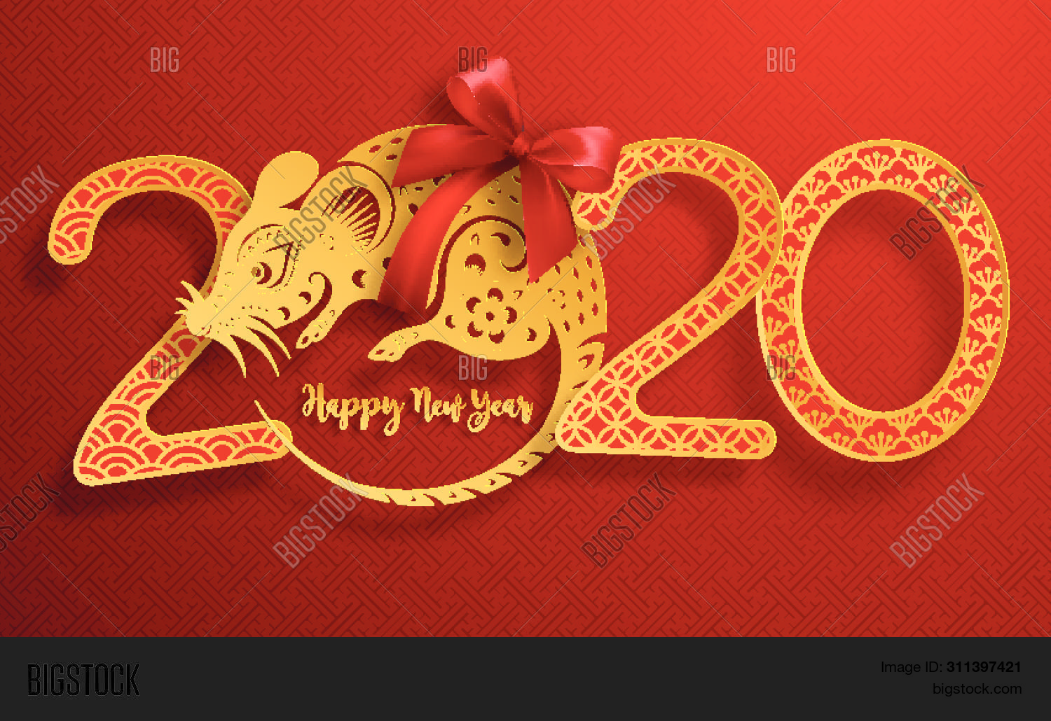 Chinese New Year 2020.Chinese New Year 2020 Vector Photo Free Trial Bigstock