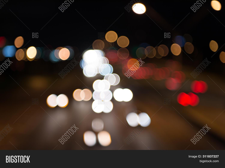 Night City Lights Image Photo Free Trial Bigstock