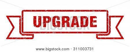 Upgrade Grunge Ribbon. Upgrade Sign. Upgrade Banner