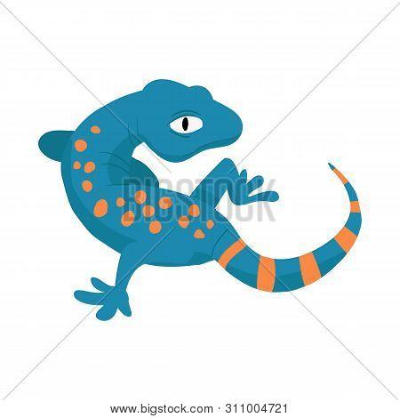 Vector Illustration Of Gecko And Lizard Logo. Collection Of Gecko And Cute Stock Vector Illustration
