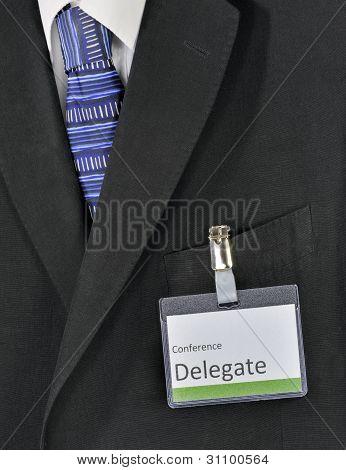 male conference delegate