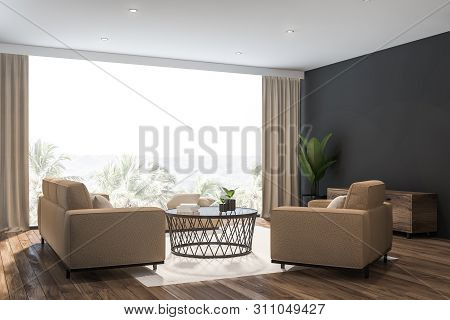 Astounding Gray Living Room Image Photo Free Trial Bigstock Dailytribune Chair Design For Home Dailytribuneorg