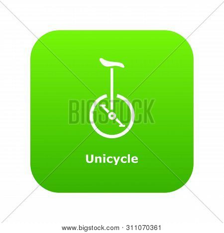 Unicycle Icon. Simple Illustration Of Unicycle Icon For Web