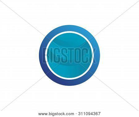 Technology Circle Logo And Symbols Vector Icon