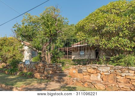 Barberton, South Africa - May 2, 2019: The Historic Stopforth House In Barberton In The Mpumalanga P