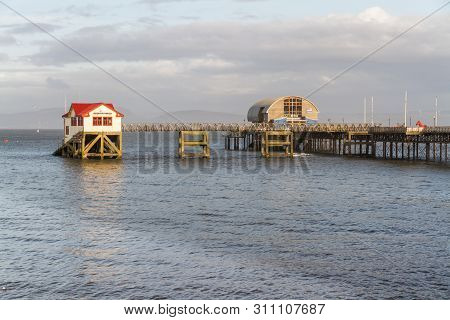 Mumbles Lifeboat Station Near Swansea Wales