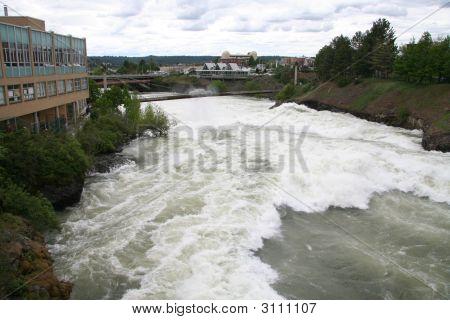 Spokane River In May