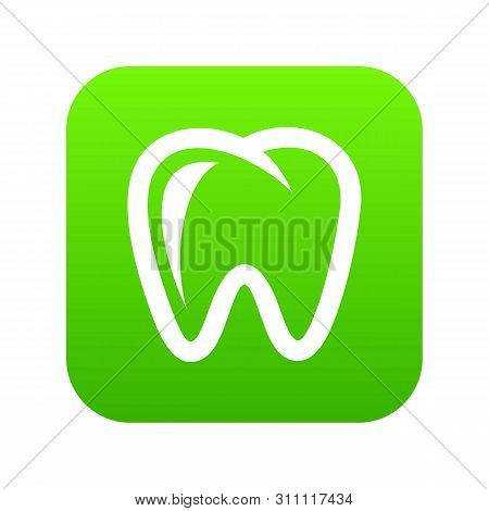Molar Icon. Simple Illustration Of Molar Icon For Web