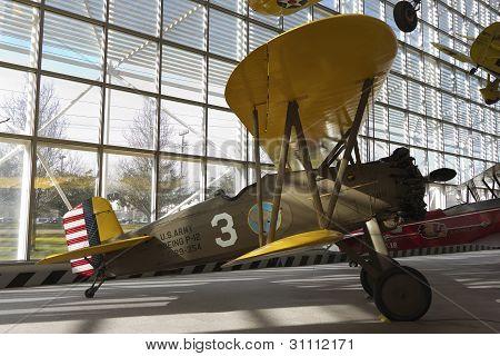 US army biplane