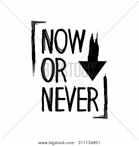 now never word vector photo trial bigstock