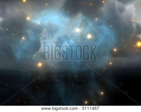Raum-Nebel