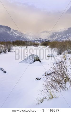 Winter Morning On Moraine Park