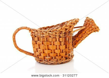 Old Cane Watering Can