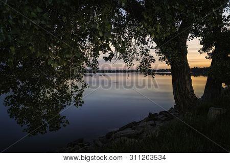 Sunrise On Lake Loveland Colorado