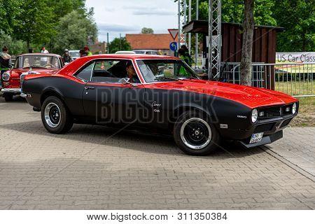 Paaren Im Glien, Germany - June 08, 2019: Sport Car Chevrolet Camaro 350 Ss. Die Oldtimer Show 2019.