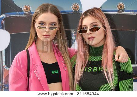 LOS ANGELES - JUL 13:  Ruby Carr, Natalia Panzarella, Bahari at the