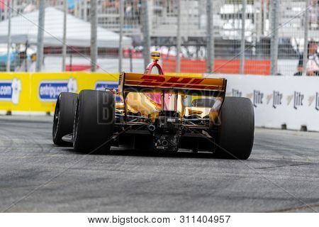 July 12, 2019 - Toronto, Ontario, CAN: SIMON PAGENAUD (22) of France practices for the Hondy Indy Toronto at Streets of Toronto in Toronto, Ontario.