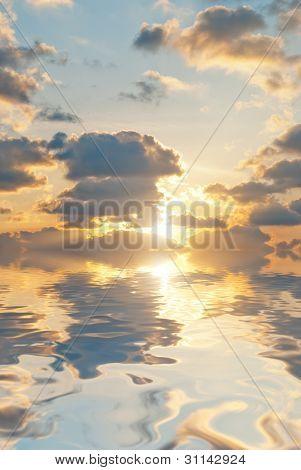 Calm Sea Background