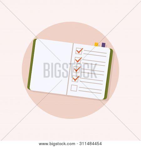 Office Checks Forms, Priority List Checks, Check Mark List And Checking Paper To Do Checklists.