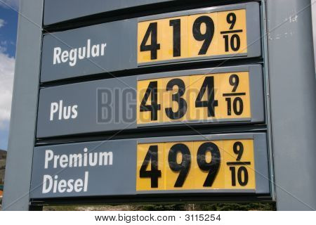 Diesel Price 5 Dollars A Gallon