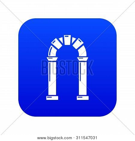 Archway Ancient Icon. Simple Illustration Of Archway Ancient Vector Icon For Web